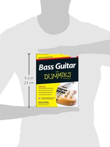 Bass Guitar For Dummies: Book + ...