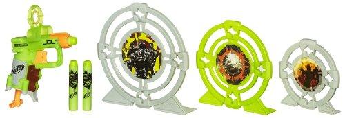 Nerf - Zombie Target, Set de Juego (Hasbro A6636E24)