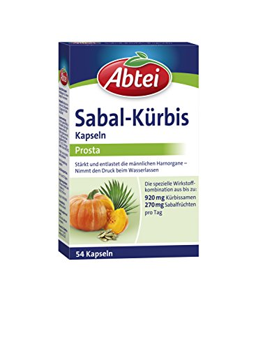 Abtei Sabal Kürbis Kapseln, 1er Pack (1 x 54 Kapseln)