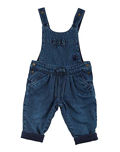 Sigikid Baby-Mädchen Latzhose, Gefüttert, Blau (Indigo 212), 86