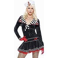 Sexy Da Donna donna Sailor Costume 2 Pezzi Tutto in