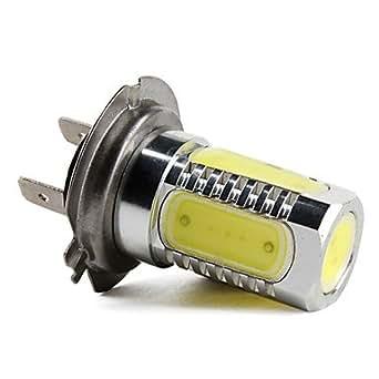 ampoule led blanche pour voiture h7 haute puissance 7 5w 400lm 5 led luminaires et. Black Bedroom Furniture Sets. Home Design Ideas