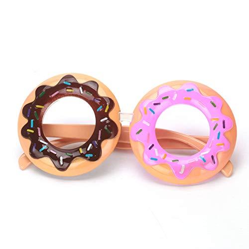 Unbekannt Donut Gläser Lustige Kostüm Geburtstag Eyegalsses