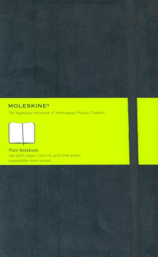 Moleskine Large Plain Notebook par Moleskine
