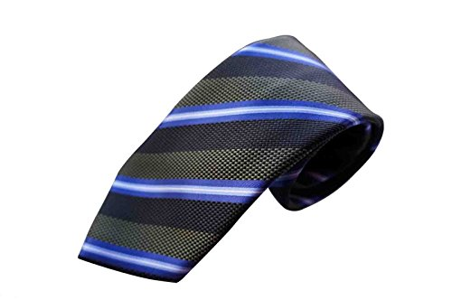 brioni-tie-handmade-in-italy-100-luxuy-silk-multi-green-blue-stripe-pattern
