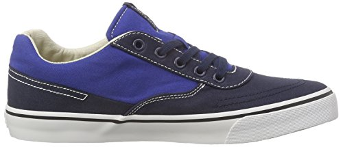 Jack & Jones Jjshark Canvas Low Sneaker, Baskets Basses homme Bleu - Blau (Navy Blazer)