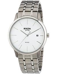 Boccia Herren-Armbanduhr XL Analog Quarz Titan 3582-01