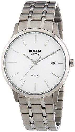 Boccia - 3582-01 - Montre Homme - Quartz Analogique - Bracelet Titane Argent