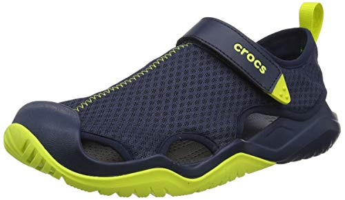 crocs Men's SwiftwaterTM Mesh Deck Sandal -