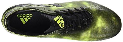 Crazyquick Malice FG - Crampons de Rugby - Noir/jaune Solaire Black