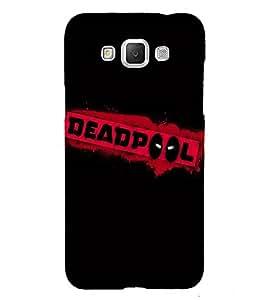 Takkloo warrior ( super hero, Black Background, red mask, man with super power, Dead) Printed Designer Back Case Cover for Samsung Galaxy Grand Max G720