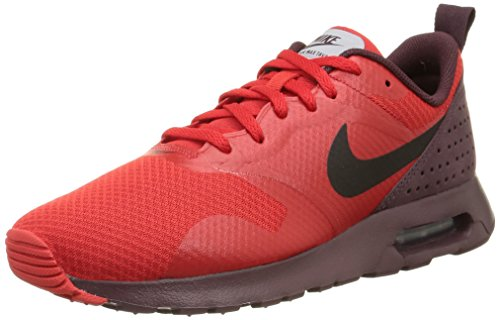 Nike NIKE AIR MAX TAVAS Herren Sneakers Rot (Deep Burgundy/Black-University Red)