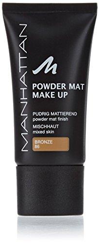 Manhattan Powder Mat Make up - Bronze 86, 30 ml -
