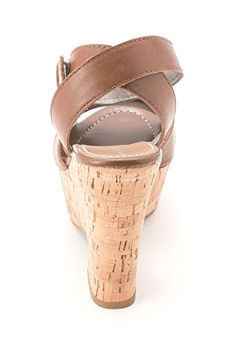 Marc Fisher, Sandali donna Dark Natural Leather