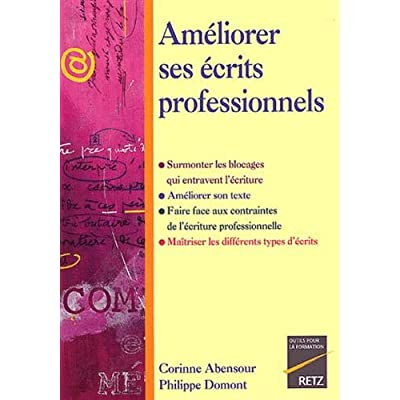 IAD - AMELIORER ECRITS PROFESS