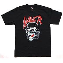 T-Shirt Slayer Baumwolle Premium Qualität beidseitig Siebdruck erhältlich in den Größen S, M und L