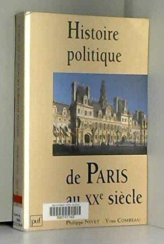 Histoire politique de Paris au XXe siècle