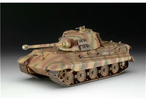 Revell Modellbausatz Panzer 1:72 - Tiger II Ausf. B im Maßstab 1:72, Level 4