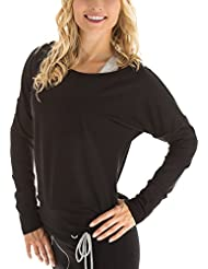 Winshape WS2 - Sudadera de baile o entrenamiento para mujer (diseño de manga larga) negro negro Talla:extra-large