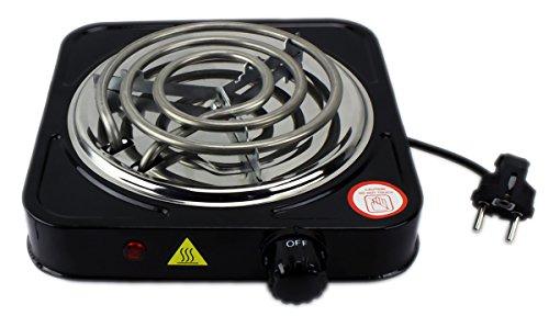 GYD Black Slimline elektronischer Kohleanzünder Shisha Kohle (Schwarz)