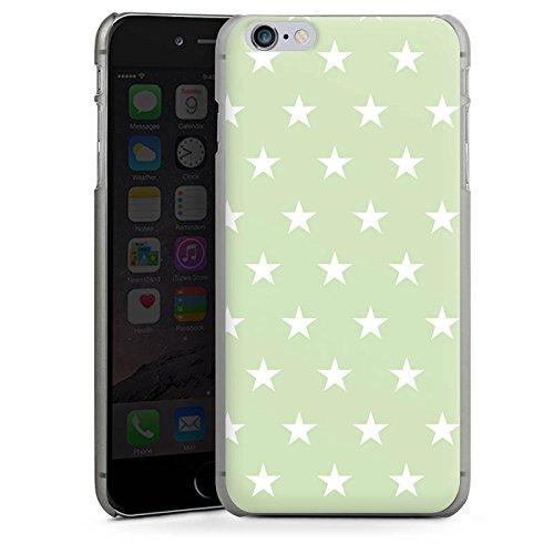 Apple iPhone X Silikon Hülle Case Schutzhülle Sternchen Muster Polka Hard Case anthrazit-klar