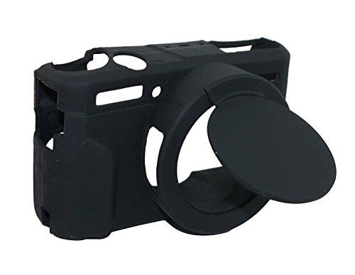 Housse d'étui amovible en caoutchouc pour caoutchouc en silicone pour appareil photo Canon PowerShot G7x Mark ii