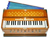 Sandhu Musicals High Class Sound Quality, 7 Stoper, Two Fold Bellow, 39 Key, 440 Tuned, Total Wood, Harmonium With Cover