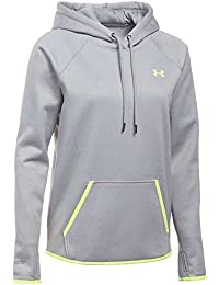Under Armour Storm AF Icon Hoodie Sudadera, Women, Gris (True Gray Heather), XS