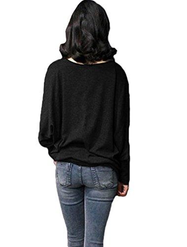 MatchLife - Sweat-shirt - Femme Noir - Noir
