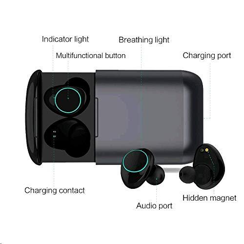 Bluetooth Kopfhörer Kingsky Mini Wireless Earbuds Bluetooth V5.0 True Kabellos Kopfhörer mit Noise Cancelling Bluetooth Ohrhörer wasserfest Bluetooth Headset Stereo mit Mikrofon - 3