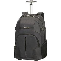 """Samsonite 927925 - Mochila con rueda para portátil, 15.6"""", color negro"""