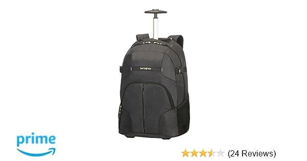 a3b393900e8 SAMSONITE Rewind - Laptop Backpack With Wheels, 55 cm, 32.5 L, Black:  Amazon.co.uk: Luggage