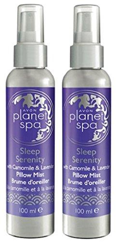 Avon Planet Spa Sleep Serenity Pillow Mist 100 ml - Pack of 2