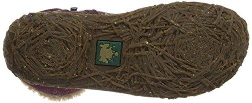 El Naturalista Nido N758, Boots femme Rouge (Grain/Lux Suede Rioja)