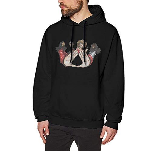 Herren Neuheit Hoodies Activewear Top Hoodies Herren Hoody Men's Comfortable Hoodie Hooded Hoodie Unique Design with Excellent Delta Sigma Theta Heart Hand Males -