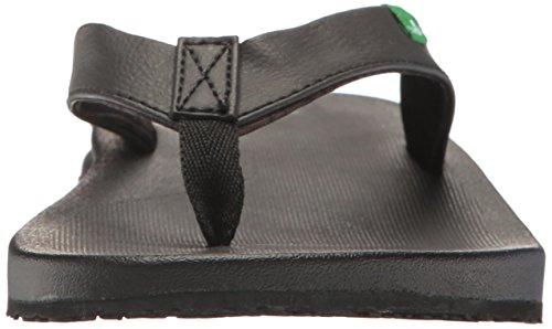 Sanuk Women's Yoga Mat Wander Flip-Flop Black