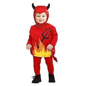 Costume Bambini Diavoletto Taglia 90-104 cm / 1-3 Anni 20 spesavip
