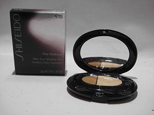 Shiseido The Makeup, Silky Eye Shadow Duo S18 Golden Topaz, 1er Pack (1 x 2 g)