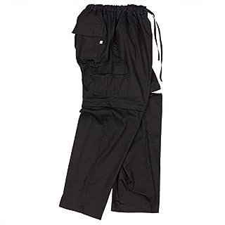 Abraxas Zipp-Off-Hose in schwarz Übergröße 12XL, Größe:5XL