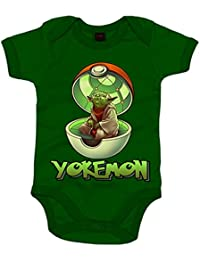 Body bebé Star Wars Yoda Pokemon Yokemon