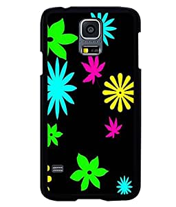 printtech Floral weed Pattern Back Case Cover for Samsung Galaxy S5 G900i::Samsung Galaxy S5 i9600::Samsung Galaxy S5 G900F