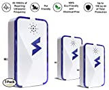 SparkPod Ultrasonic Pest Control Repeller (3 Pack) – Indoor Repellent for Mice, Mosquitoes