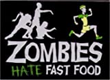 SNORGS, Zombies Hate Fast Food, Officially Licensed, 3.5' x 2.5' MAGNET magnete