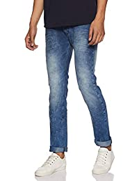 Beat London by Pepe Jeans Men's Slim Fit Stretchable Jeans
