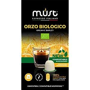 ORZO BIOLOGICO Must Espresso Italiano 100 CAPSULE COMPOSTABILI Nespresso Compatibili - 10 confezioni da 10 capsule 2 spesavip