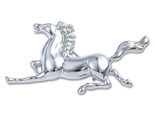 Creativo Pin de la broche del esmalte plateado Caballo corriendo Broche de animales