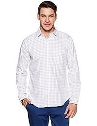 Van Heusen Sport Men's Plain Slim Fit Cotton Casual Shirt - B079L6HRWP