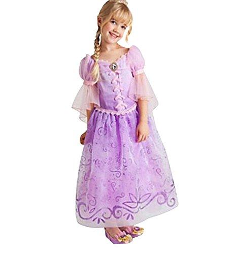 Missfox principessa abito bambina abiti cosplay 120cm come immagine