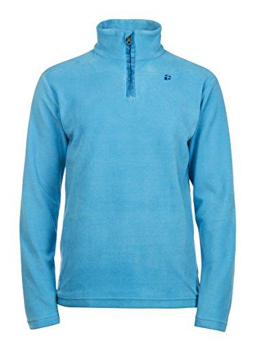 Protest felpa da sci da uomo perfecty Pullover 1/4Zip Top, Uomo, blu, S