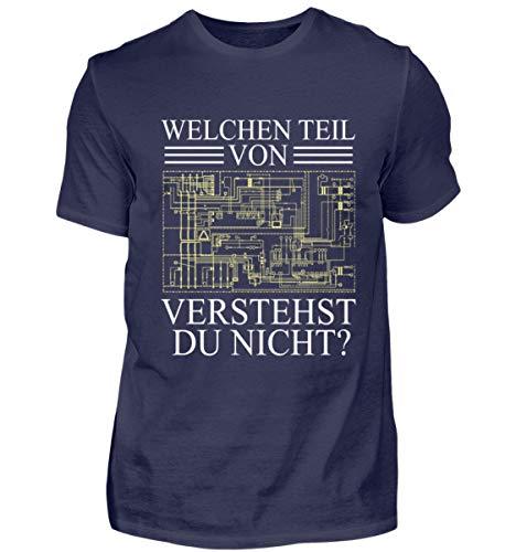 Welchen Teil von (Schaltplan/Layout / Board) verstehst du Nicht? Elektroniker Geschenk - Herren Shirt
